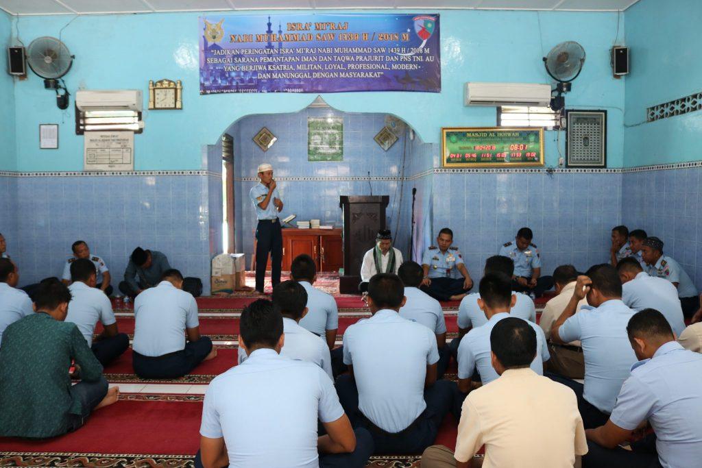 Peringatan Isra 'Mi'raj Nabi Muhammad SAW di Lanud Ash
