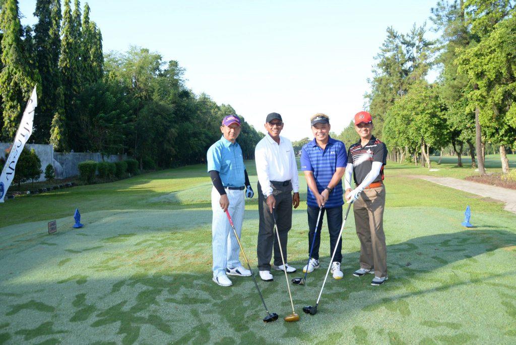 Golf Bersama Komandan Lanud Adisutjipto