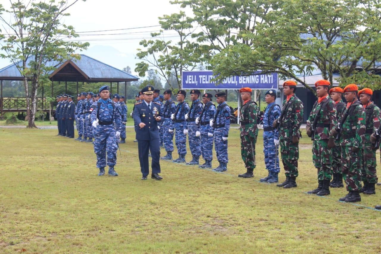 UPACARA PERINGATAN HARI TNI AU ke-72 DI LANUD TIMIKA