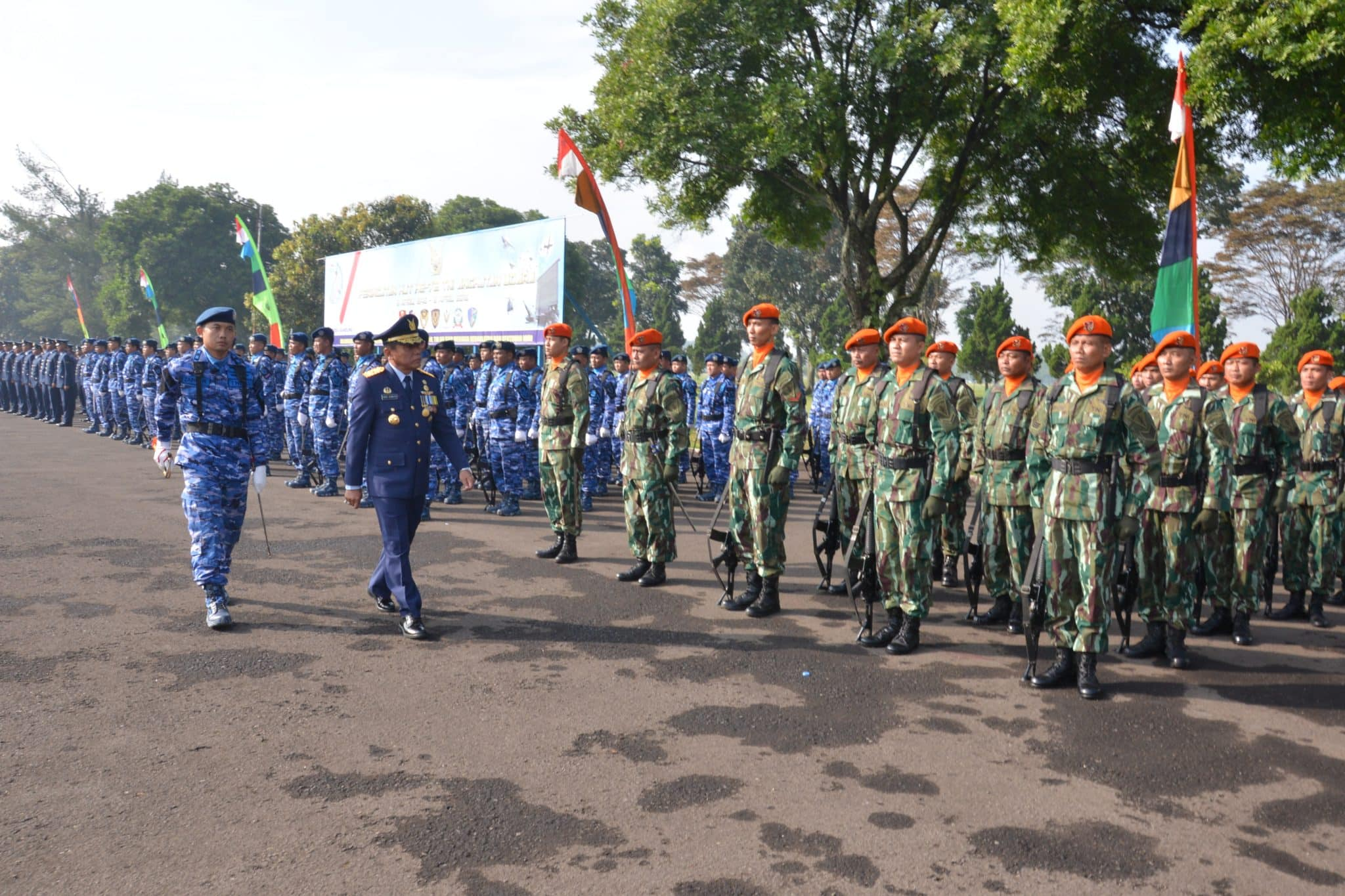 Bakorda AU Bandung Peringati Hari Jadi TNI Angkatan Udara Ke-72
