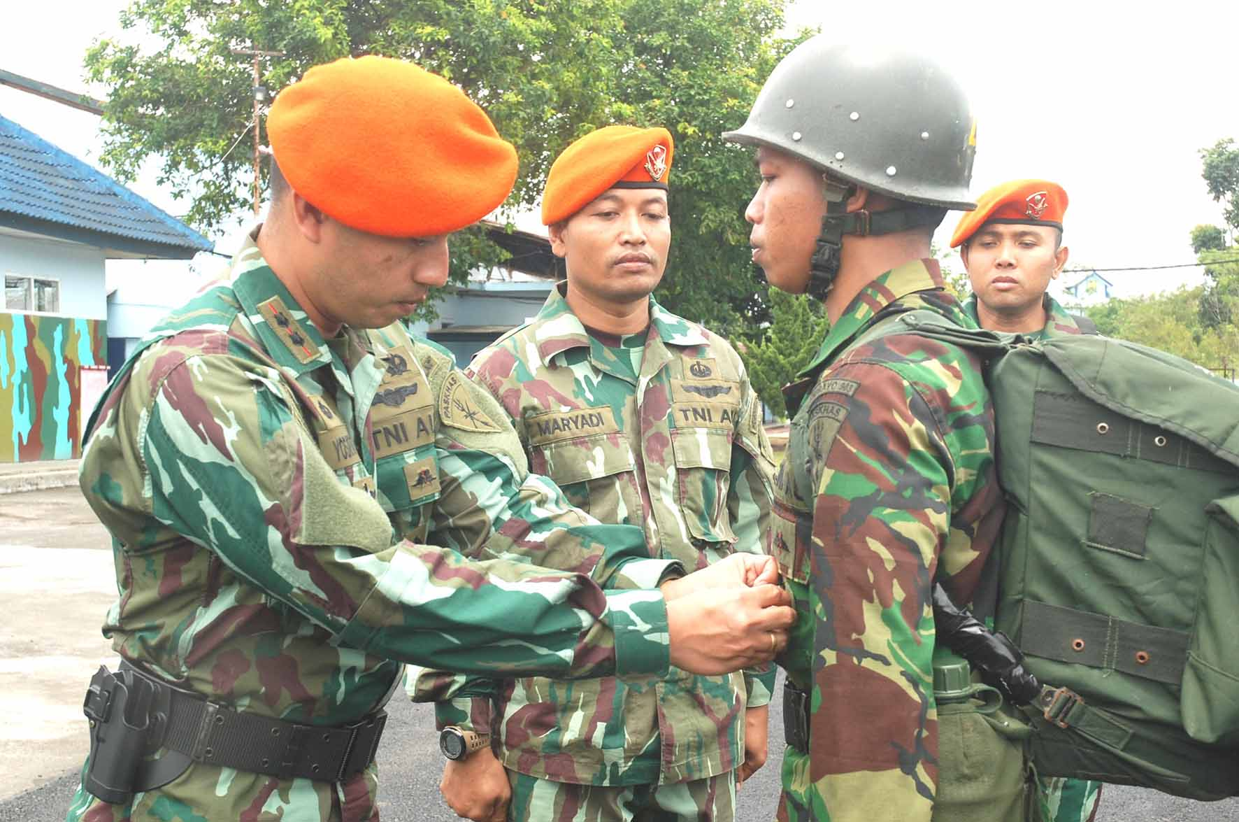 Danpusdiklat Paskhas : Harus memahami tentang misi dan fungsi Sniper Team