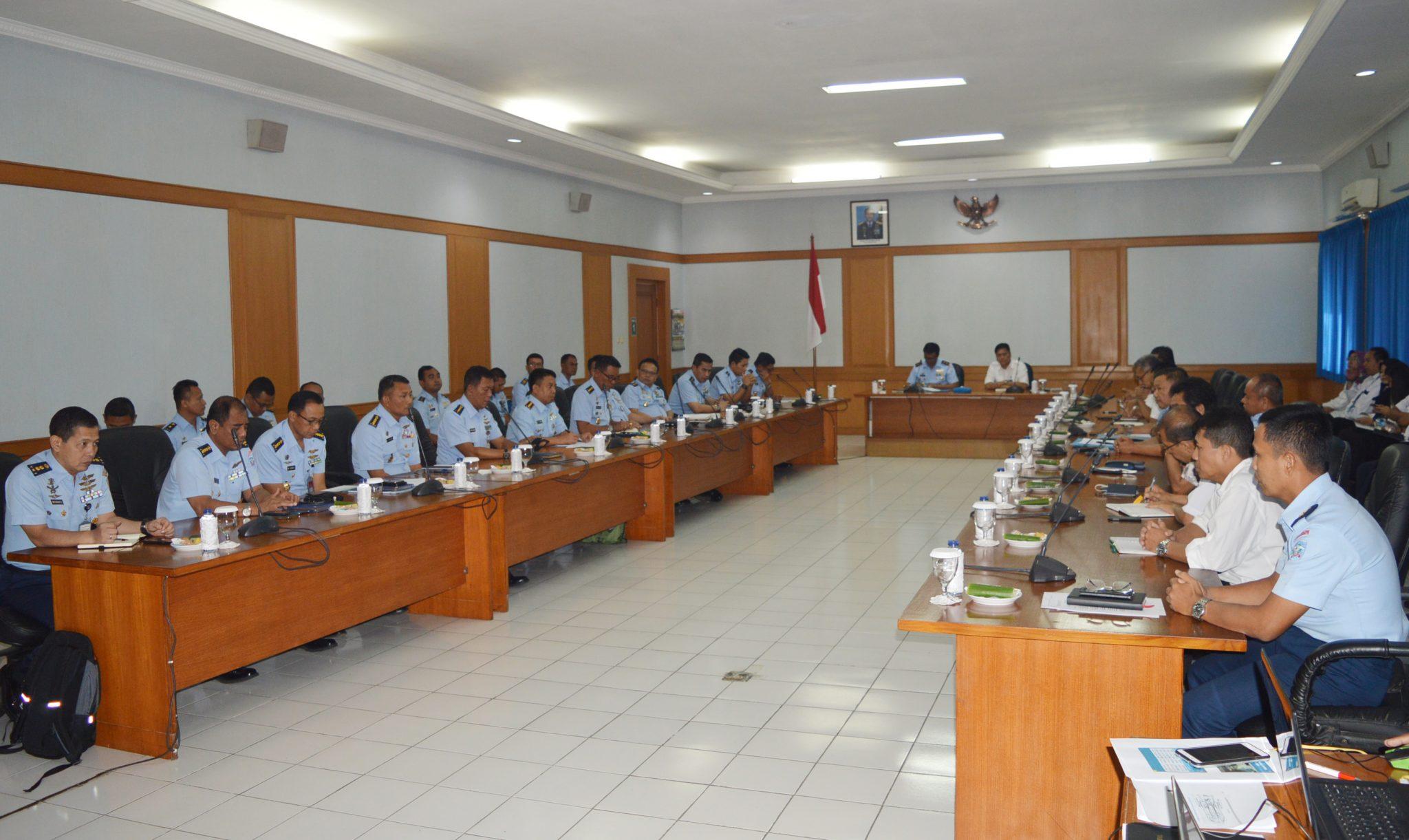 Rakor Technical Coordination Program (TCP) pesawat CN-235 dan CN-295