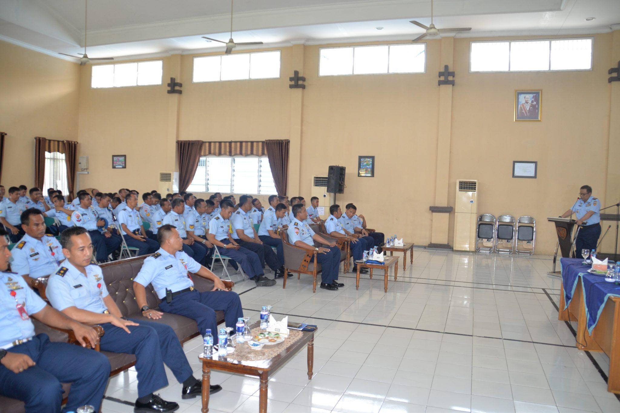Ceramah Binpotdirga Di Lanud Surabaya