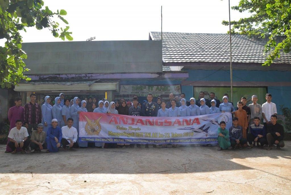 Anjangsana Dalam Rangka HUT TNI AU ke 72 Tahun 2018 di Lanud Sjamsudin Noor