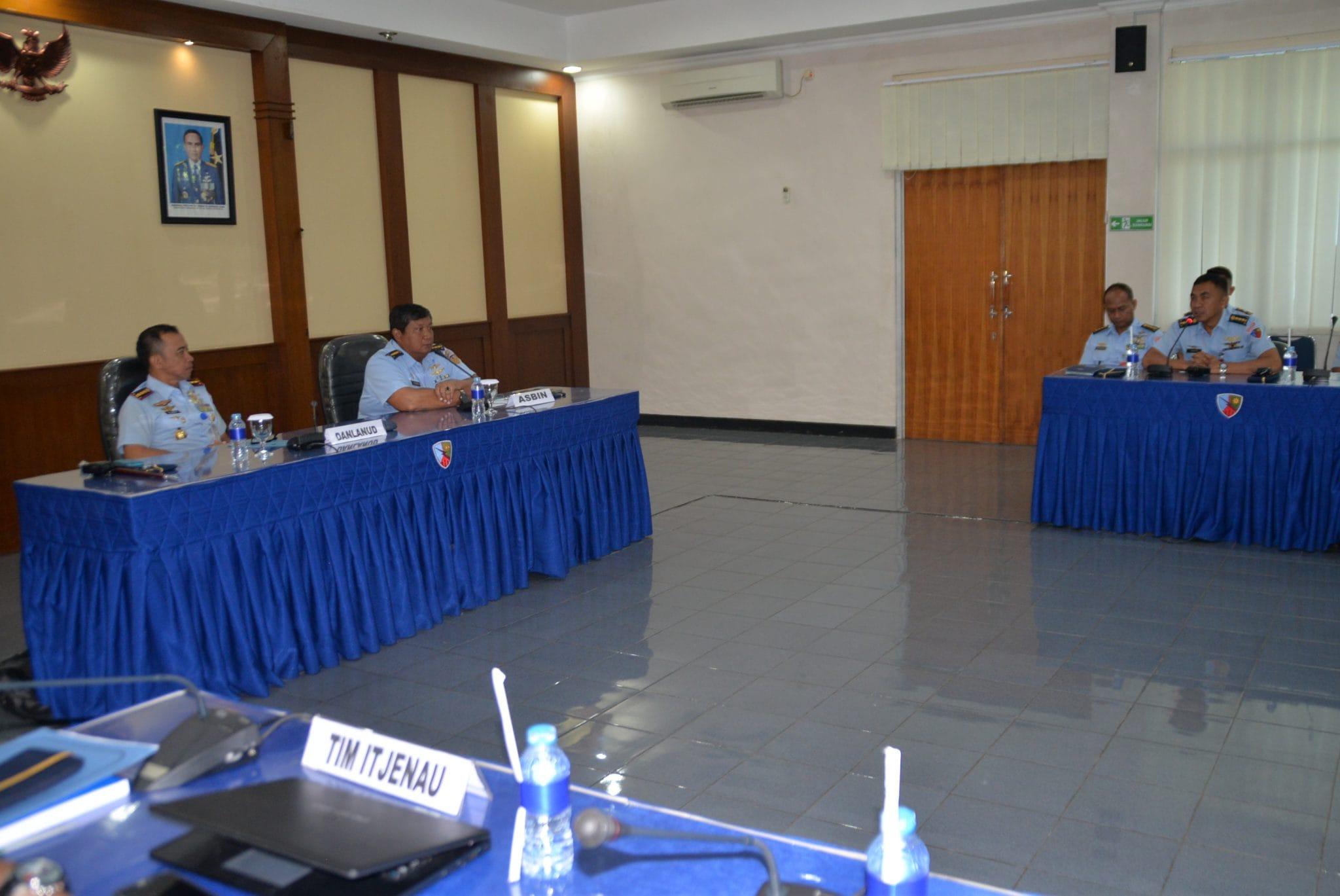 Tim Wasrik Itjenau Mengunjungi Lanud Atang Sendjaja