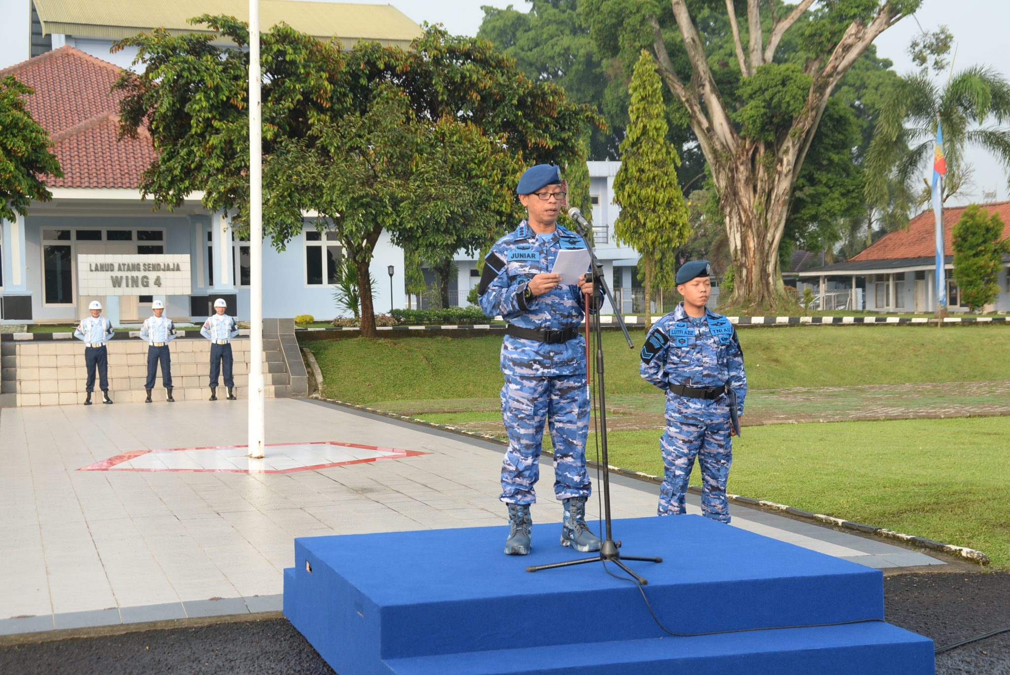 Prajurit dan PNS TNI Tidak Bersikap Reaktif