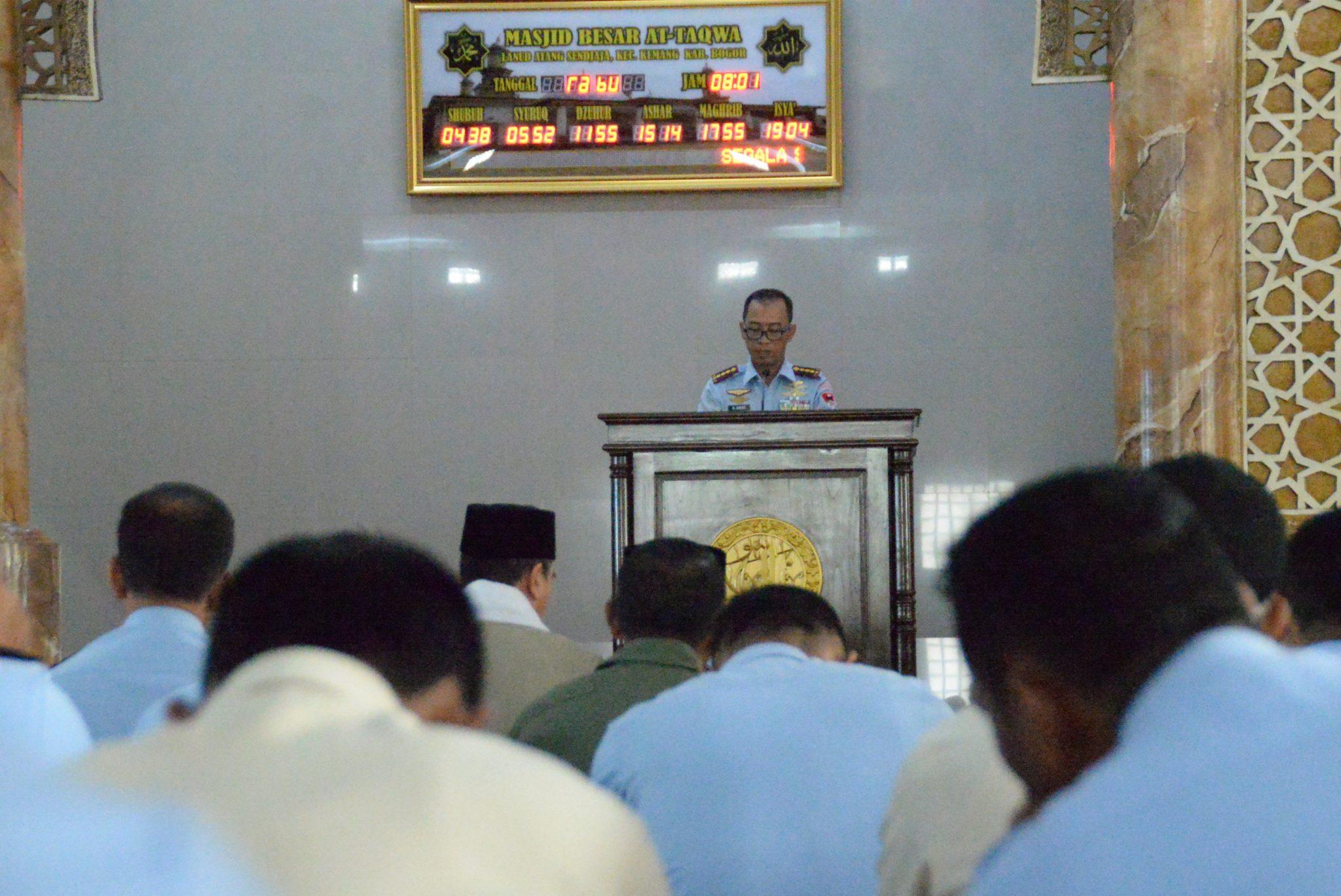 Lanud Ats Gelar Peringatan Isra Mi'raj Nabi Muhammad SAW 1439H/2018 M