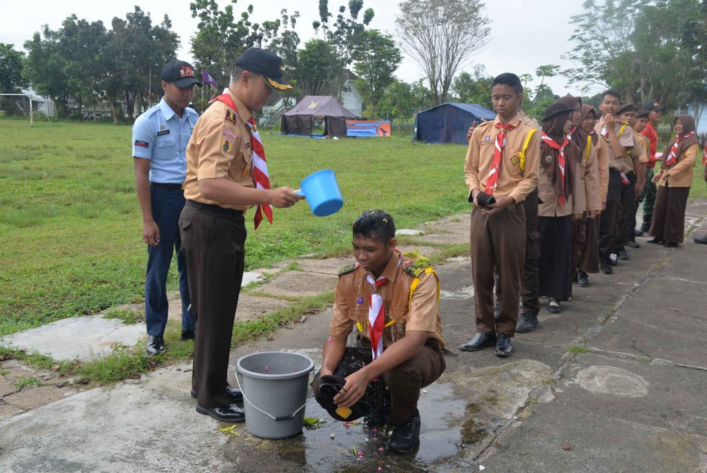 Komandan Lanud Sjamsudin Noor melantik Ketua Dewan Saka Dirgantara Lanud Sjamsudin Noor Periode 2018 – 2020