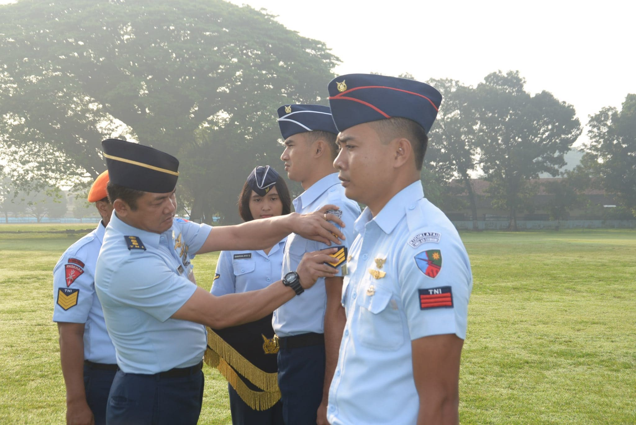 37 Personel Lanud Adi Soemarmo Naik Pangkat