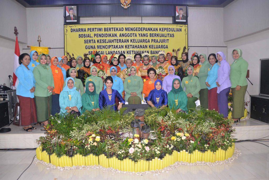 HUT Dharma Pertiwi ke - 54 Tahun 2018 di Banjarmasin