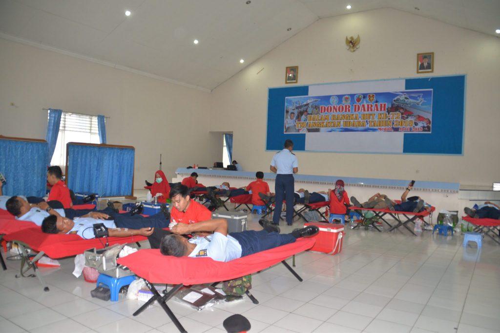 Donor Darah Di Lanud Soewondo