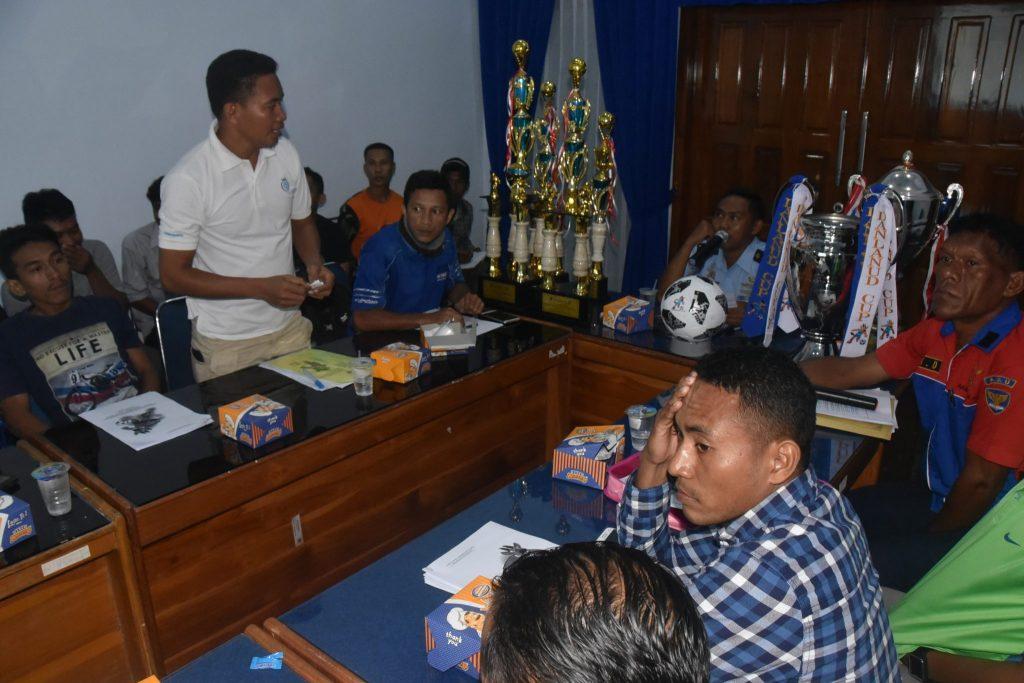 Technical Meeting Open Tournament Danlanud Cup II di Lanud Haluoleo Kendari