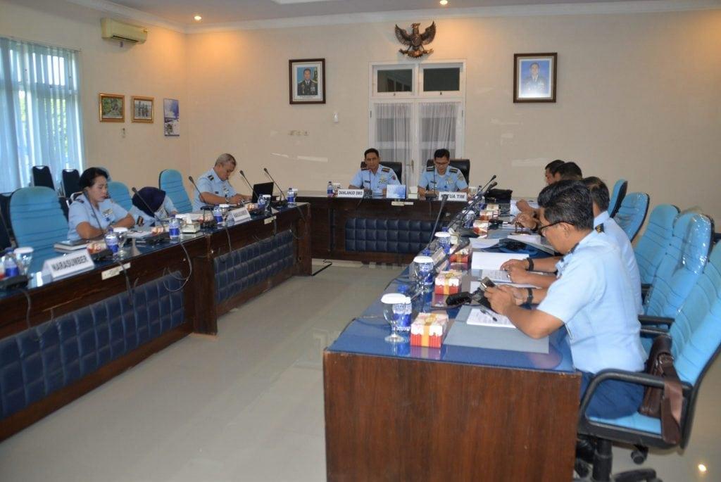 Danlanud Smo Buka Pokja Revisi Kurdik Semata PK TNI AU