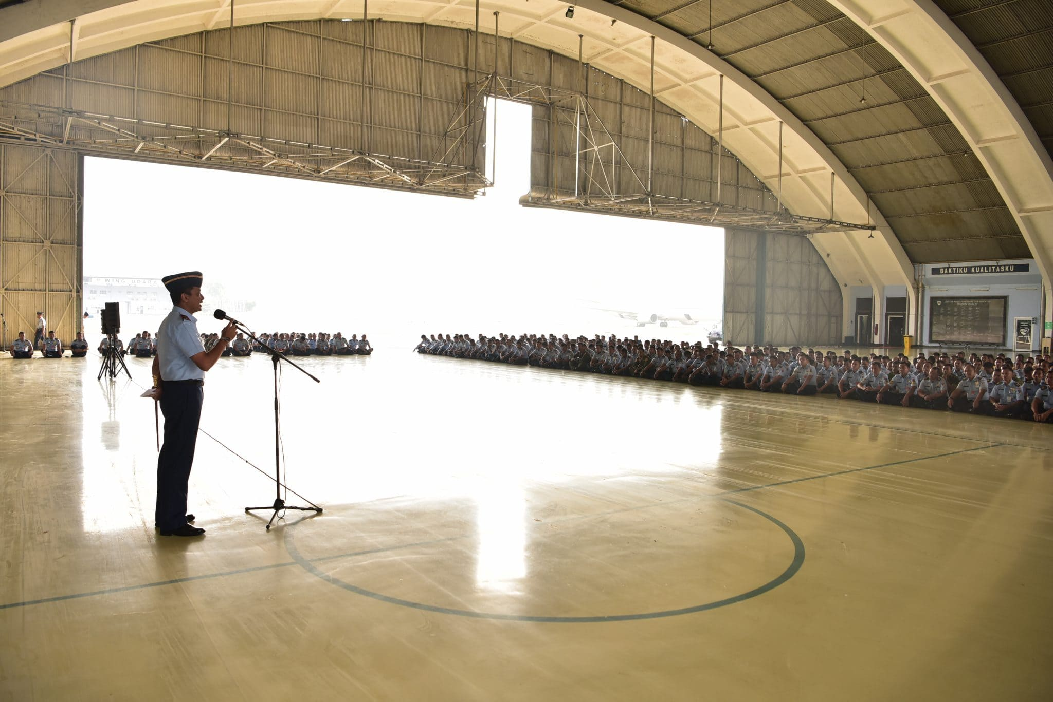 Komandan Lanud Halim Perdanakusuma Gelar Jam Komandan