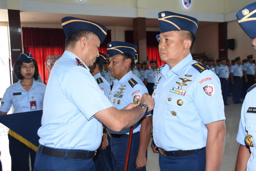 Lima Jabatan Pejabat Makoopsau II Di Serah Terimakan