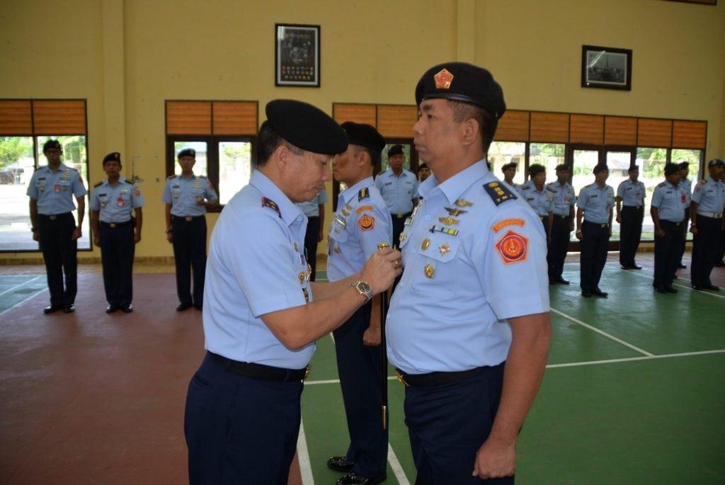 Letkol Kal Leodin Surya,S.T Jabat Aslog Kosekhanudnas IV