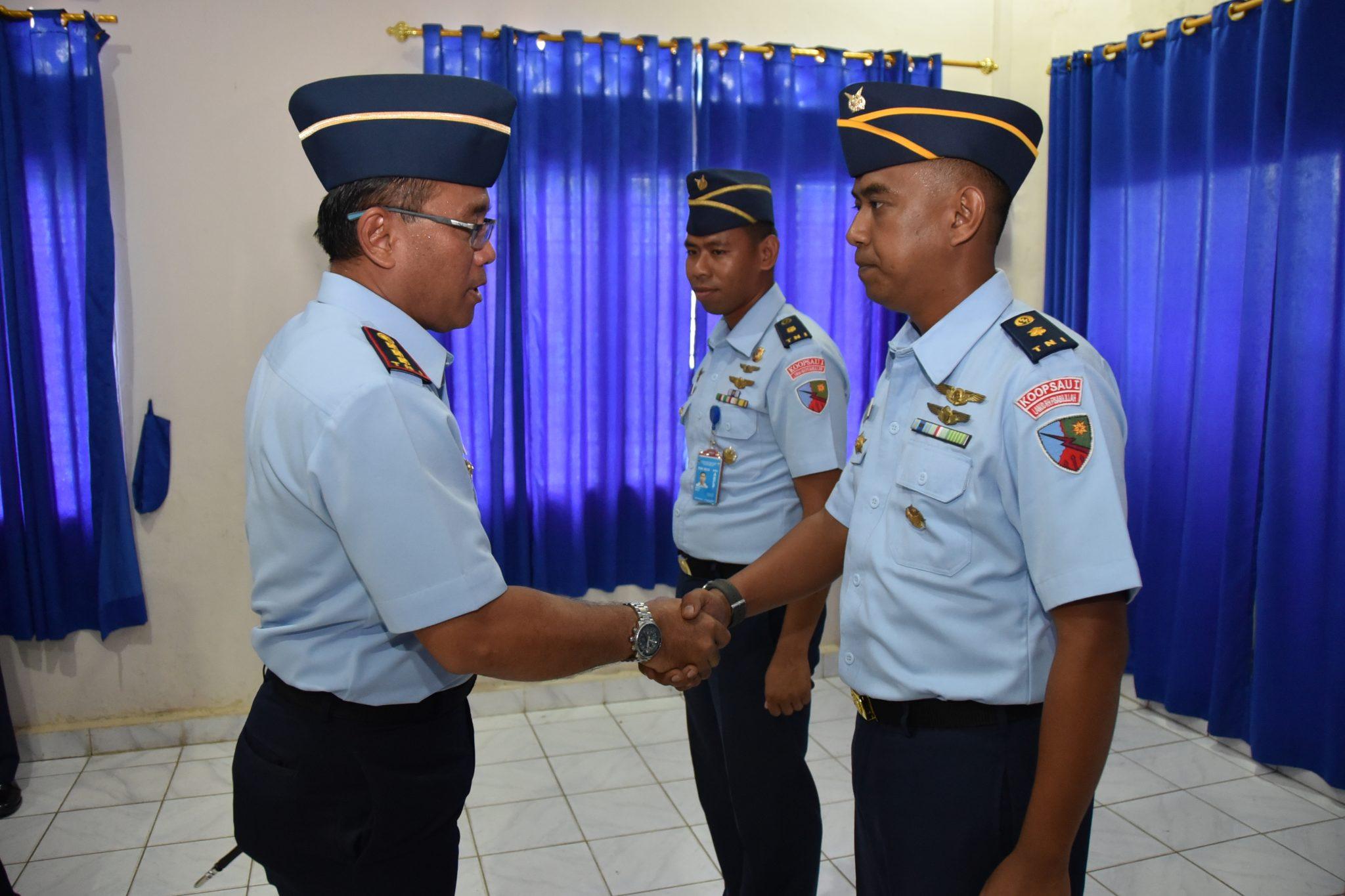 Mayor Lek Wardoyo Kepala Dinas Operasi Lanud Rhf yang baru