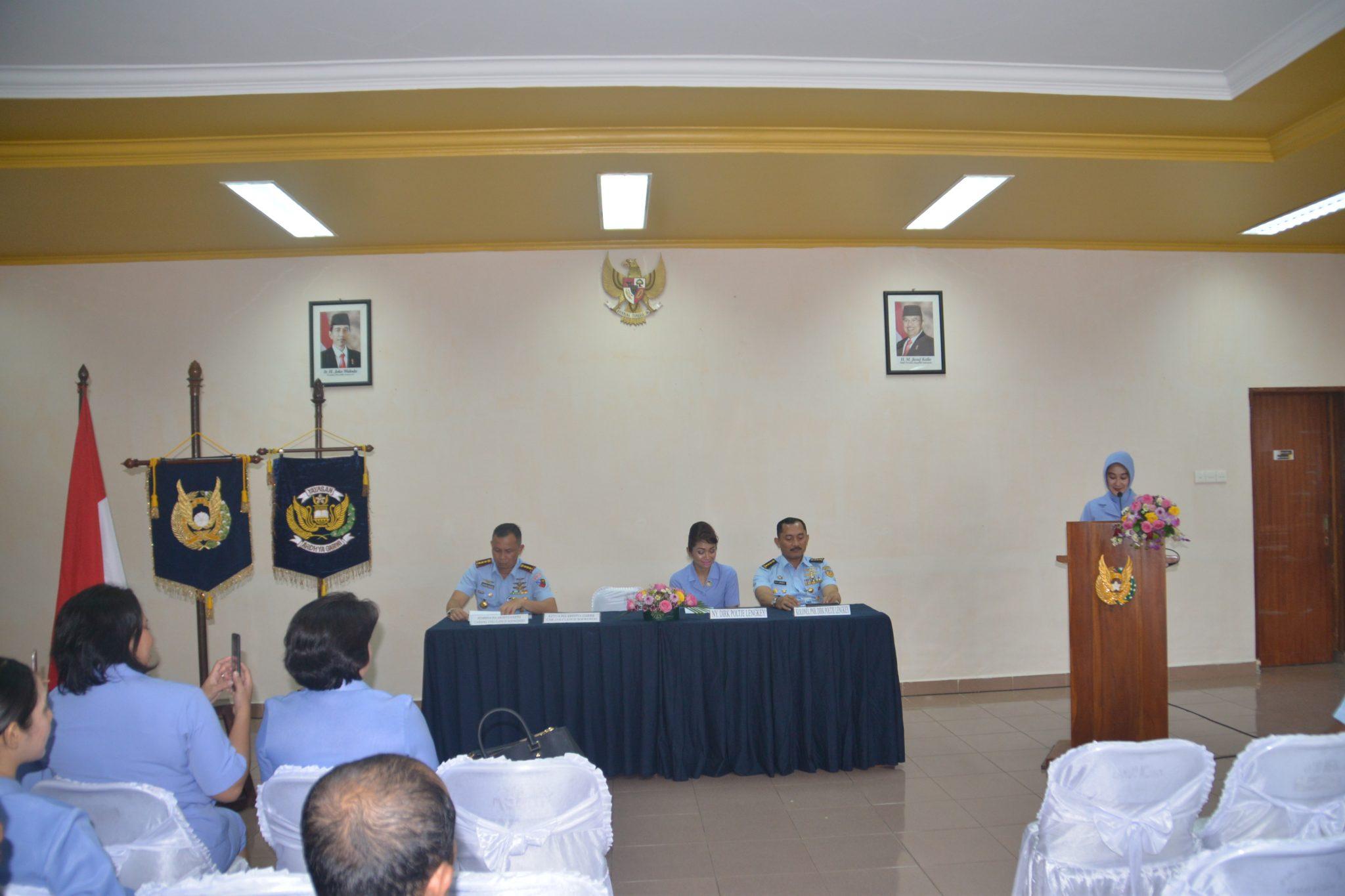 PIA AG Lanud Soewondo Laksanakan Rapat Paripurna