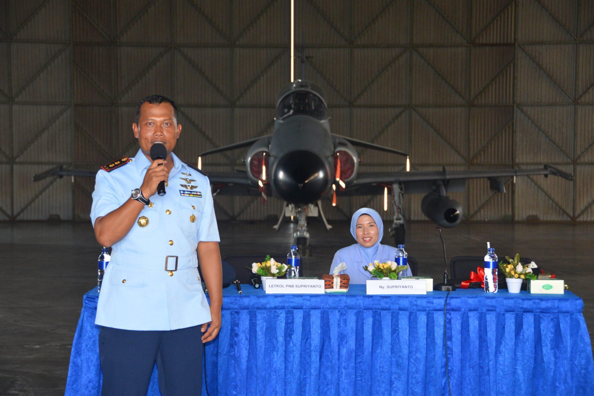 Danskadron Udara 1 Siap Tingkatkan Profesionalisme Prajurit