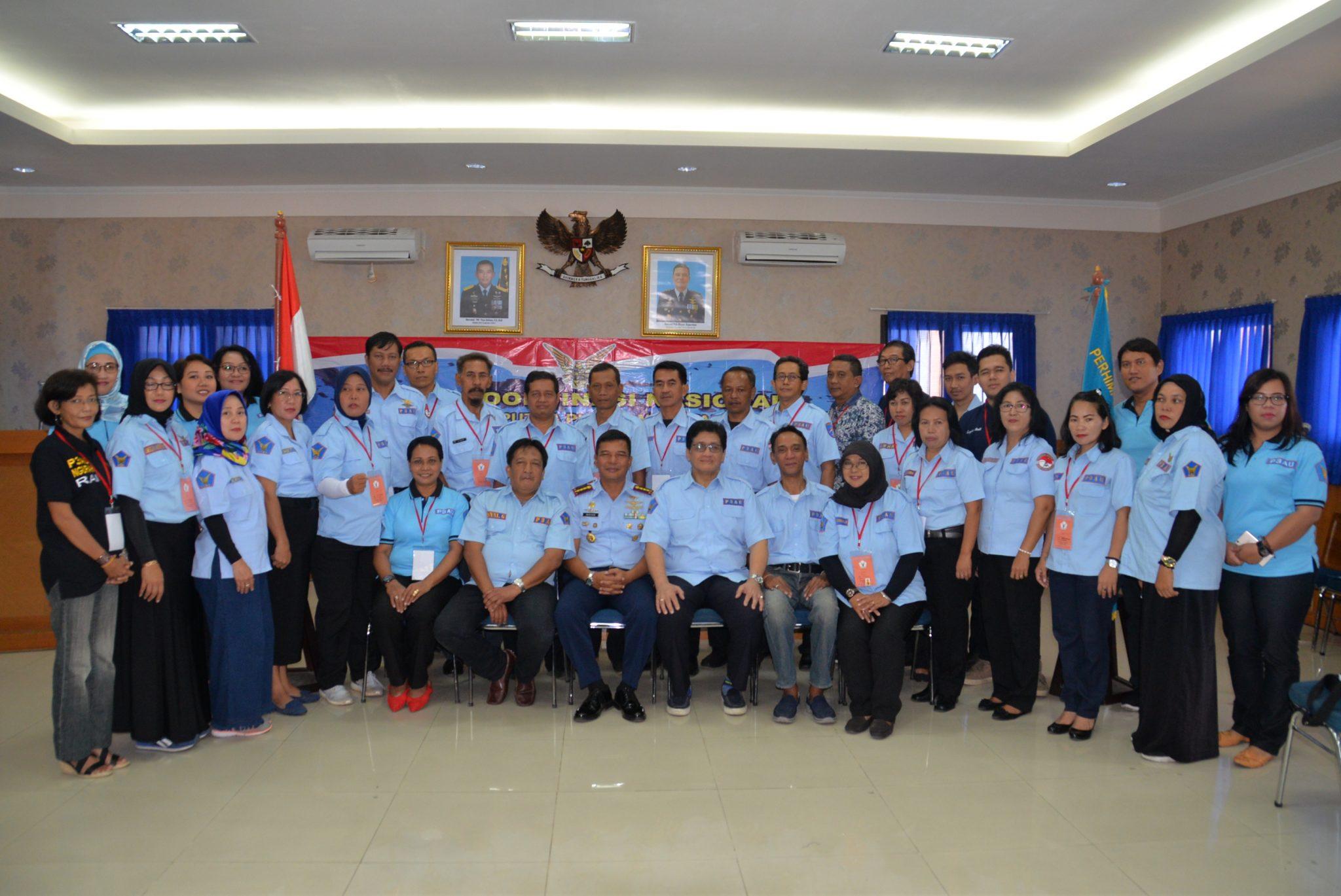 Komandan Lanud Ngurah Rai Buka Rapat Koordinasi Perhimpunan Putra-Putri TNI AU (P3AU)