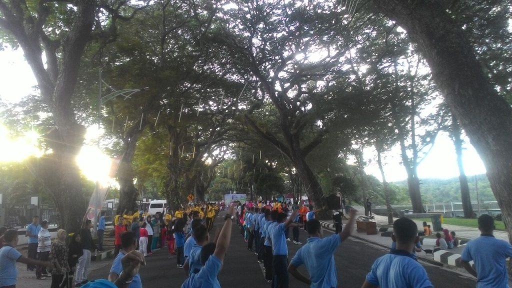 Lanud Maimun Saleh Selenggarakan Car Free Day Kota Sabang Dalam Rangka Bulan Dirgantara