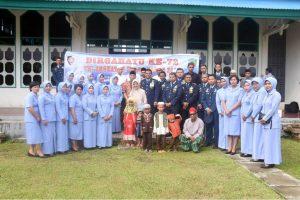 Peringati hari jadi ke-72 TNI AU, Lanud HLO laksanakan Anjangsana ke Ponpes Al-Qodiriyah Kendari