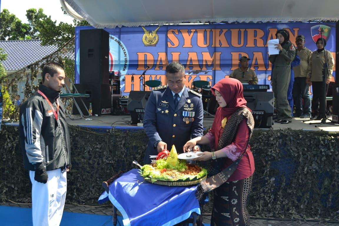 Puncak Perayaan HUT Ke-72 TNI AU Di Surabaya