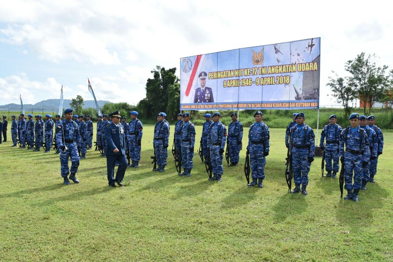 Peringatan Hut TNI AU Ke 72 Di Lanud Sam Ratulangi