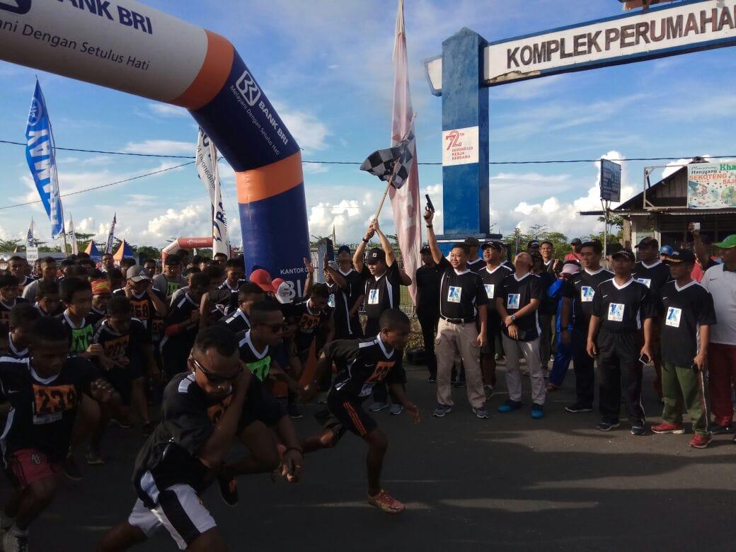 The Black Run 7 Km Satrad 242, Dilepas Pangkosekhanudnas IV