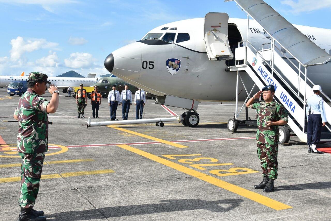 Kunjungan Panglima TNI ke Daerah Perbatasan Sulut