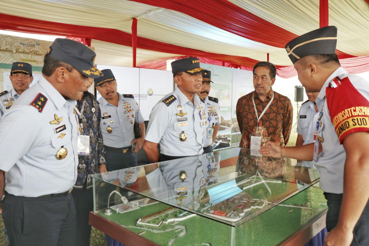 Kasau Tinjau Kesiapan Pengembangan Bandara J.B. Soedirman