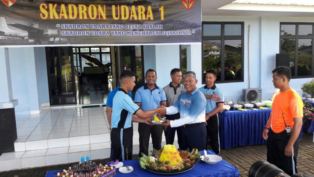 Skadron Udara I Elang Khatulistiwa Lanud Supadio Peringati Hut Ke-68