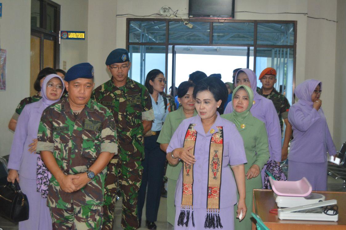 Ketum Dharma Pertiwi Apresiasi Pelayanan Rs Dr Sutomo Lanud Supadio