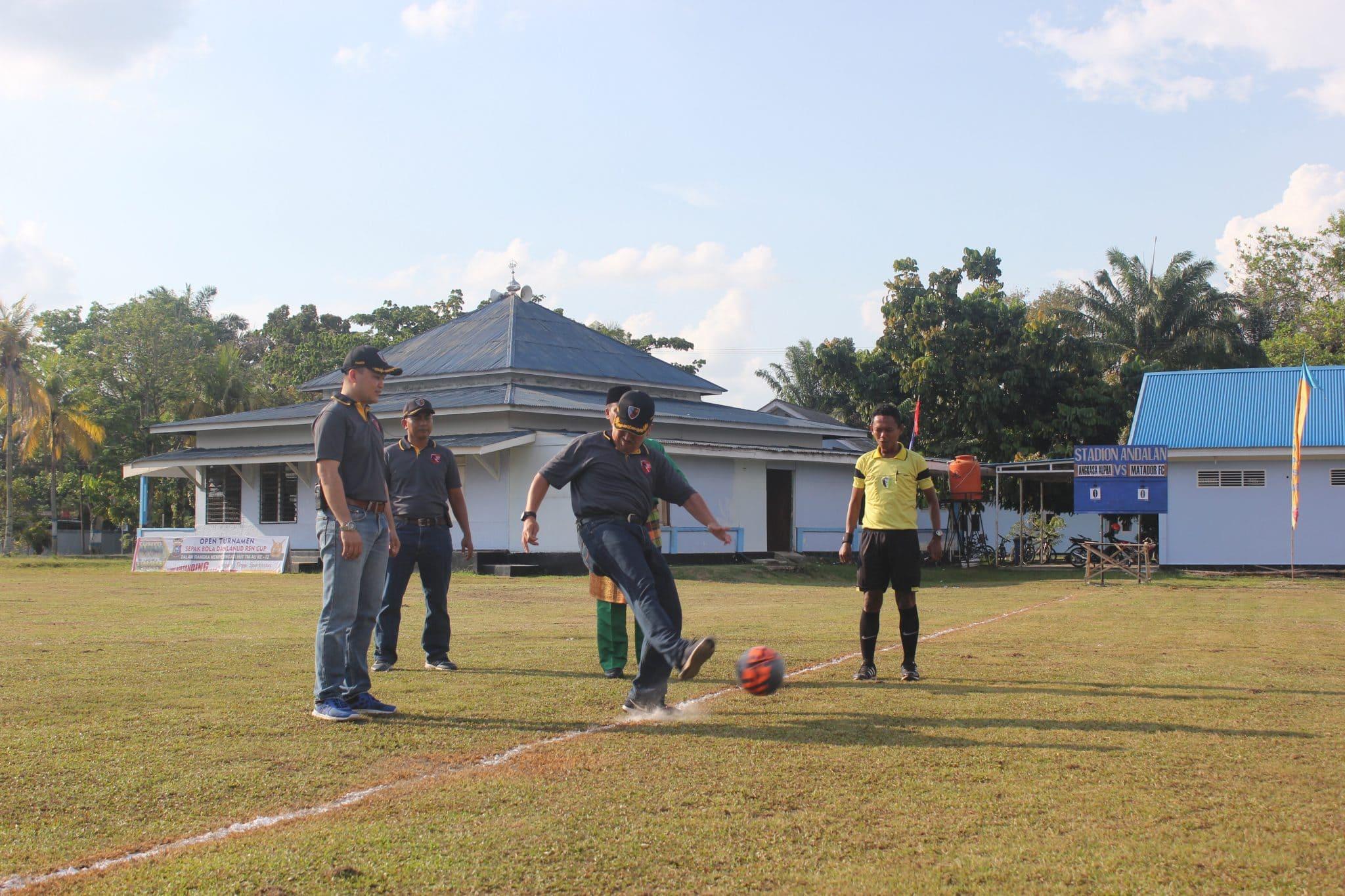 Turnamen Sepakbola Danlanud Cup II Lanud Rsn Resmi Dimulai