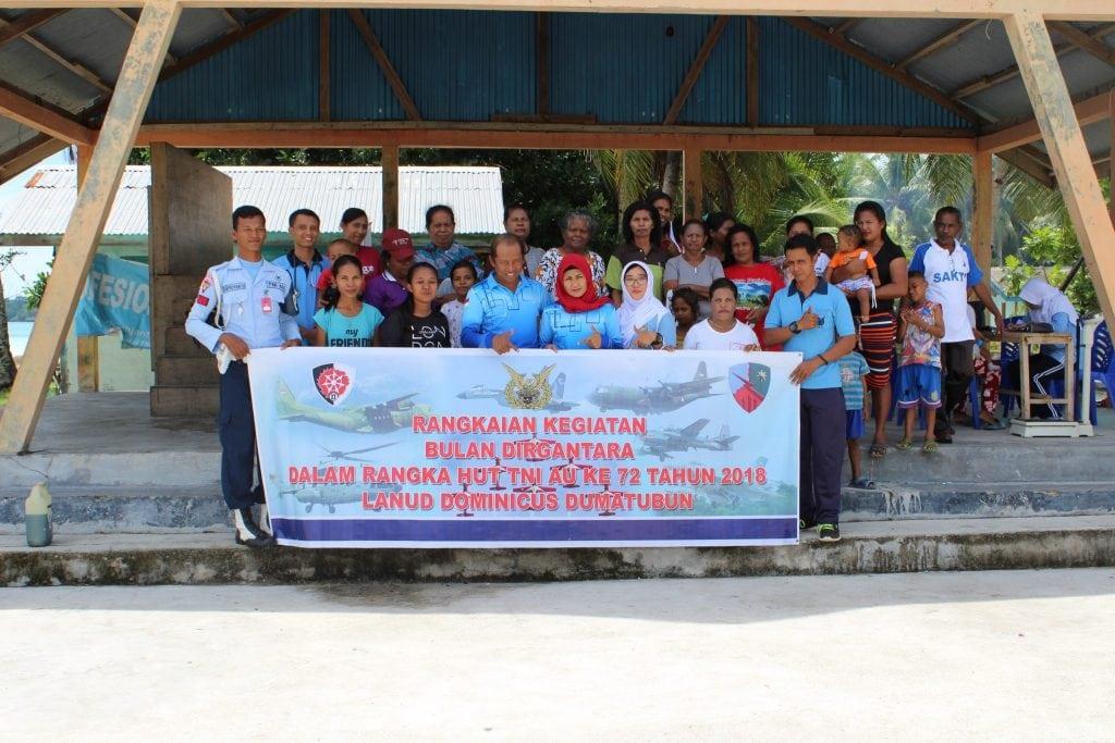 Bakti Sosial Dalam Rangka Bulan Dirgantara dan HUT TNI AU ke 72