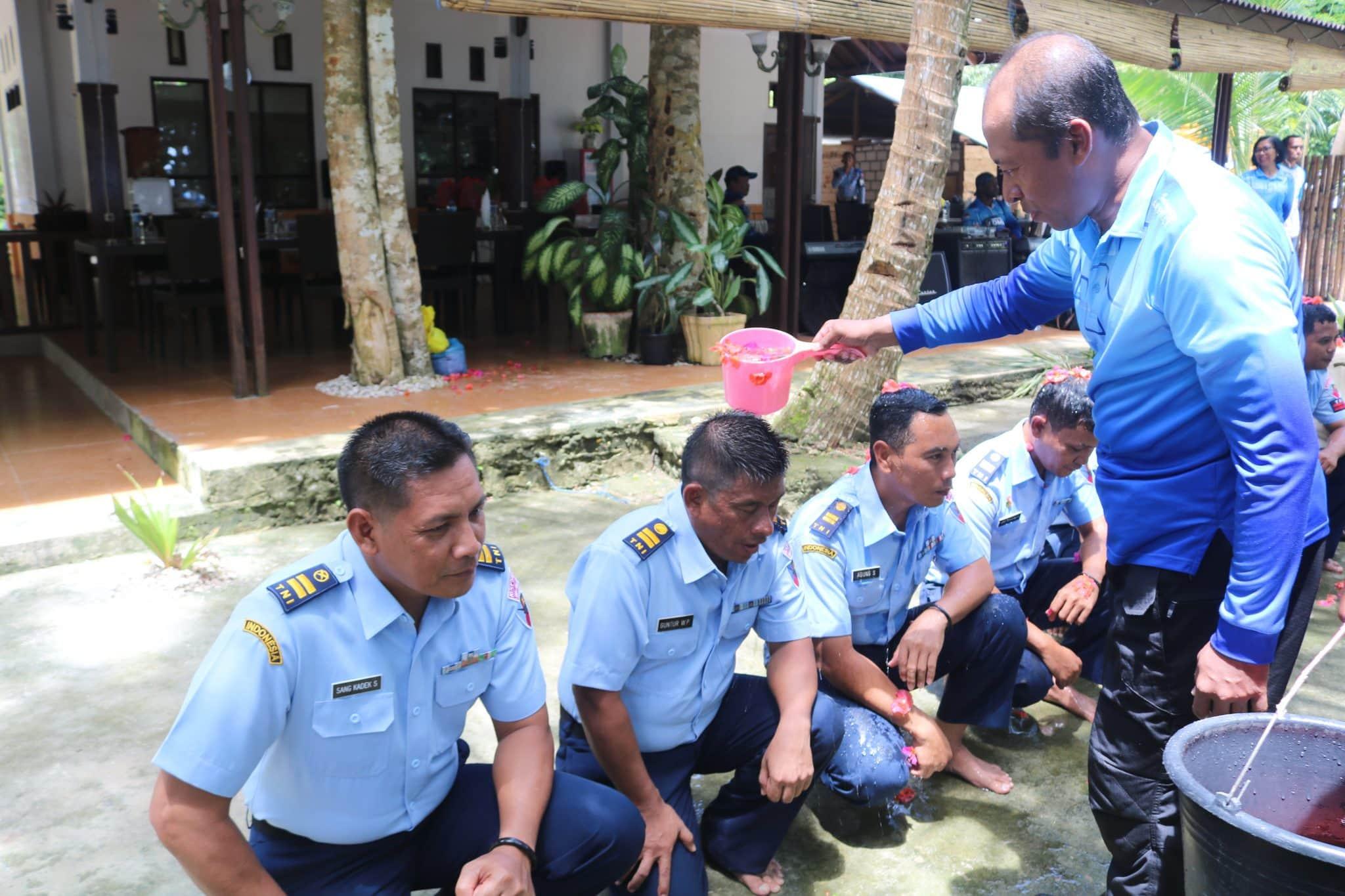 Kenaikan Pangkat Perwira, Bintara, Tamtama dan PNS Lanud D. Dumatubun
