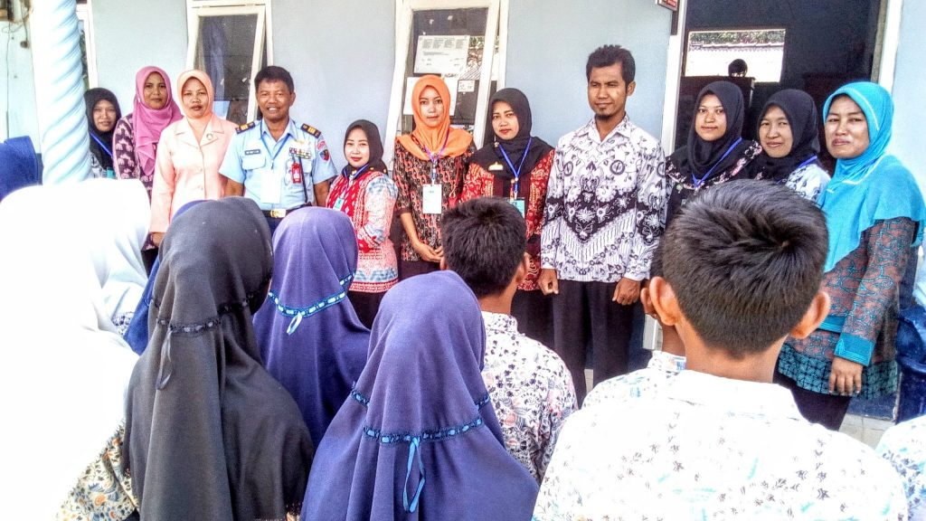 SMP Angkasa Lanud Bny Laksanakan UN
