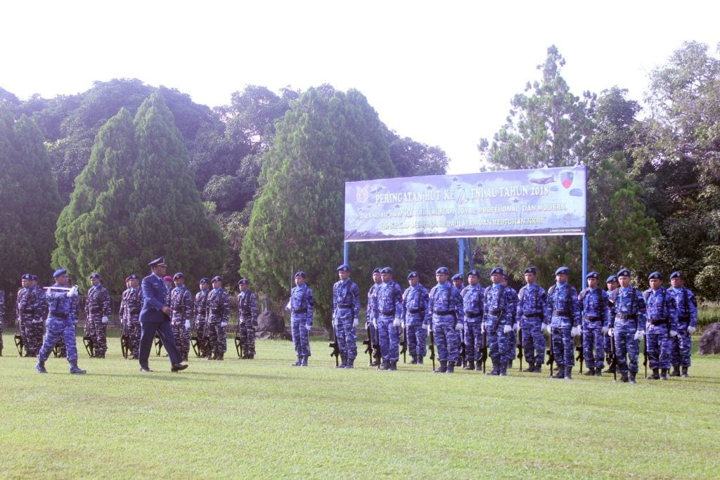 Hut Ke-72 TNI AU Tahun 2018 Di Lanud Leo Wattimena Pulau Morotai