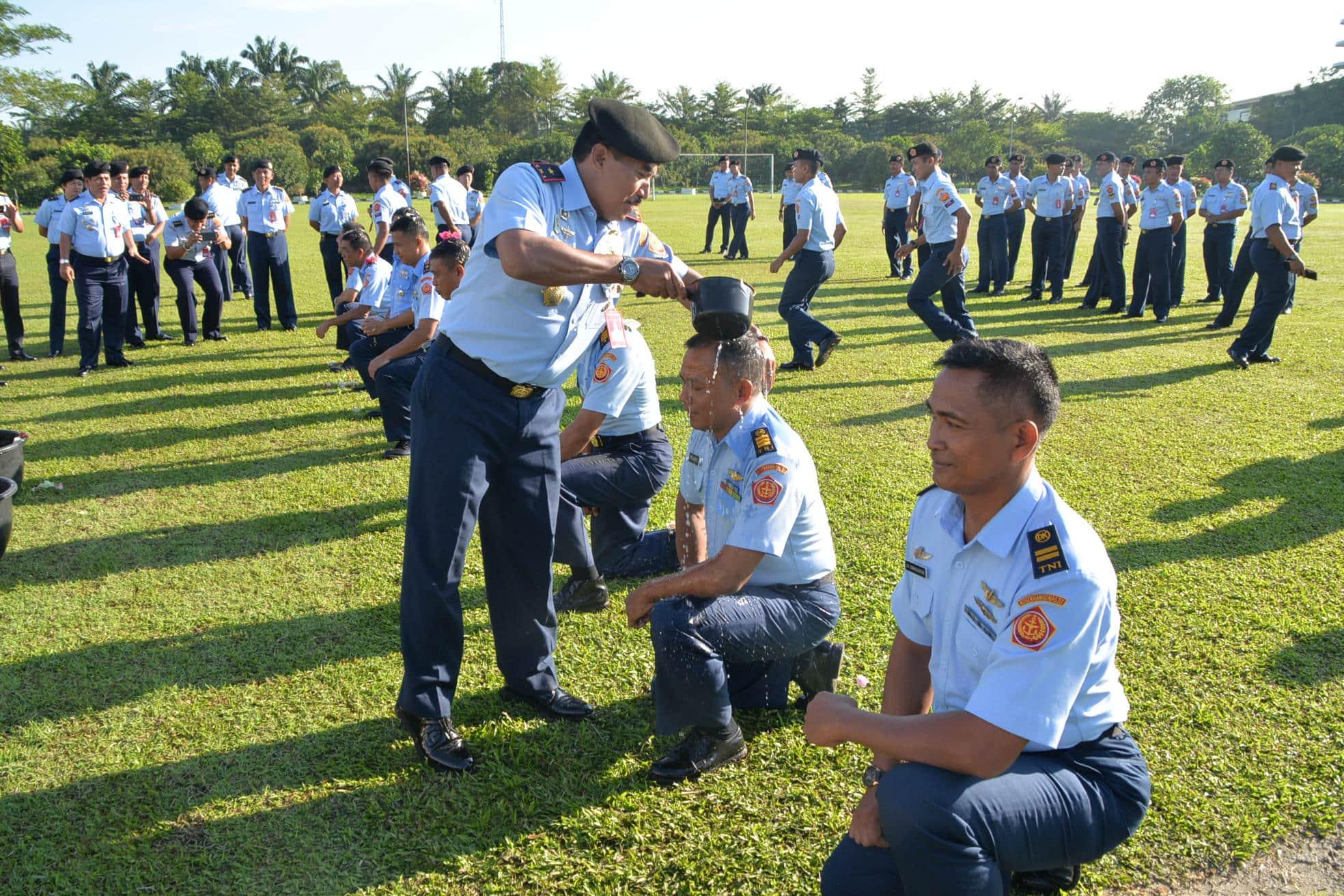 Personel Kosekhanudnas III Mendapat Kenaikan Pangkat Setingkat Lebih Tinggi