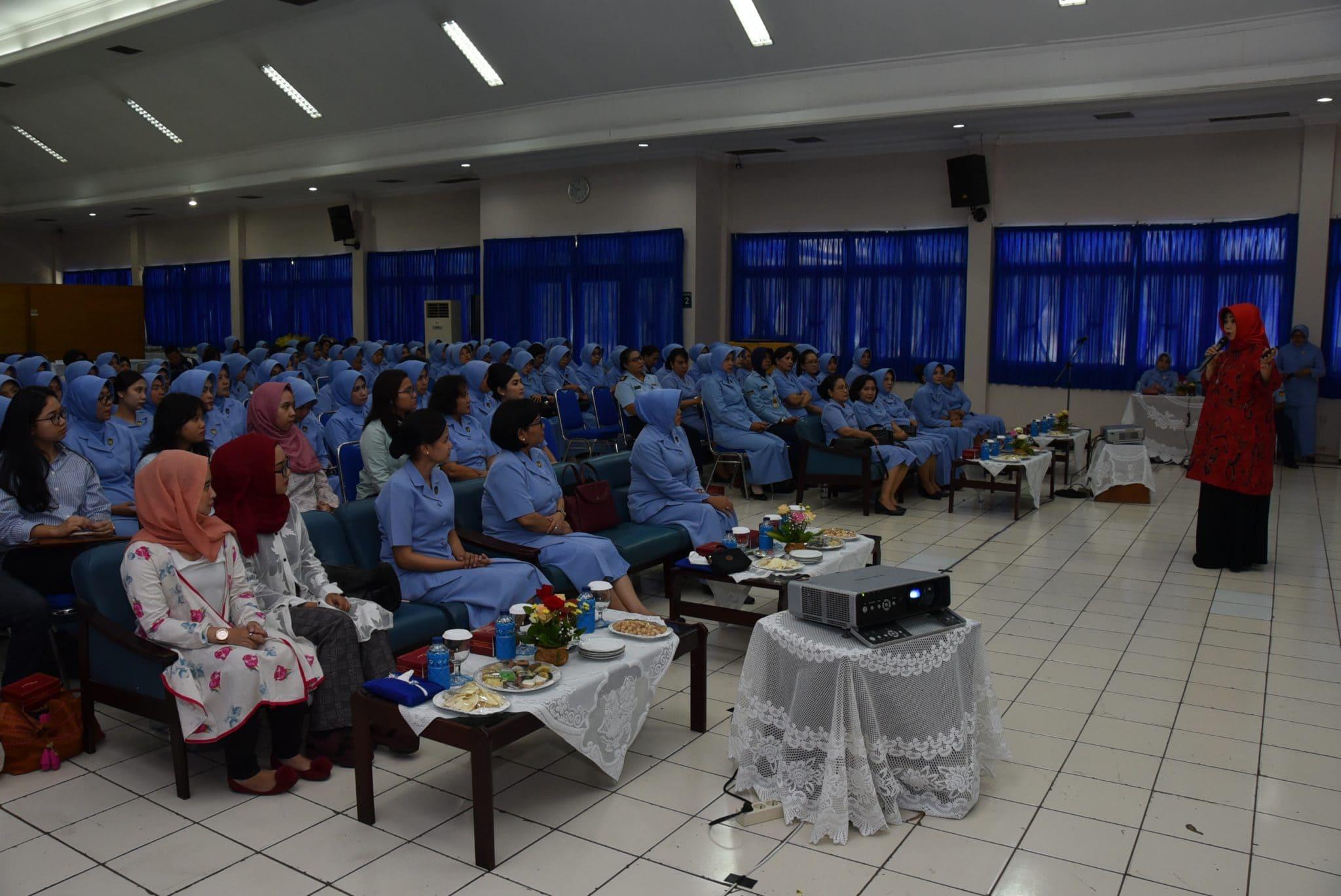 Pelaksanaan Ceramah tentang KDRT, Pornografi, dan Narkoba anggota PIA Ardhya Garini Gab III Koharmatau