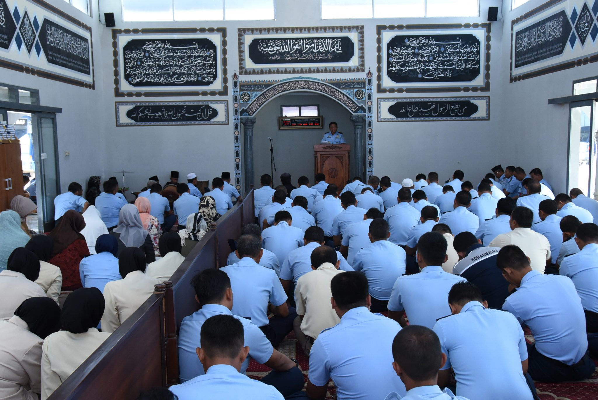 Peringatan Isra Mi'raj Nabi Muhammad Saw 1439 H/2018 M, di Mako Koharmatau