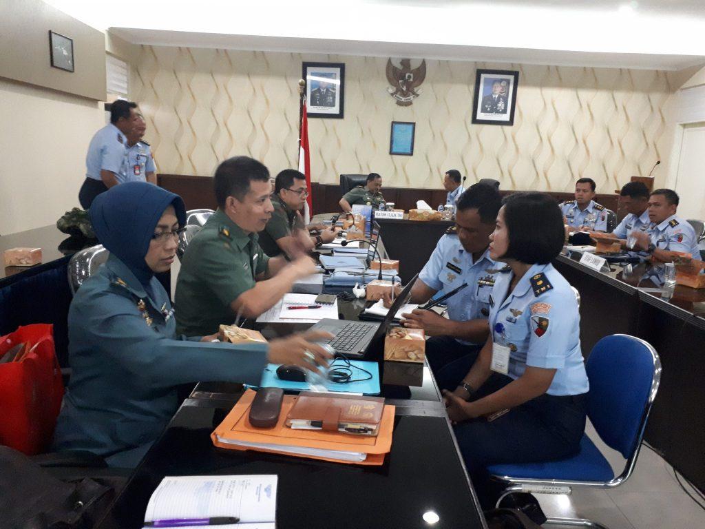 Tim Itjen TNI Wasrik Di Lanud Soewondo