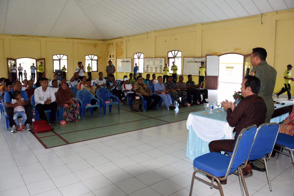 Komandan Lanud Raden Sadjad Tinjau Aset TNI AU Di Pulau Subi