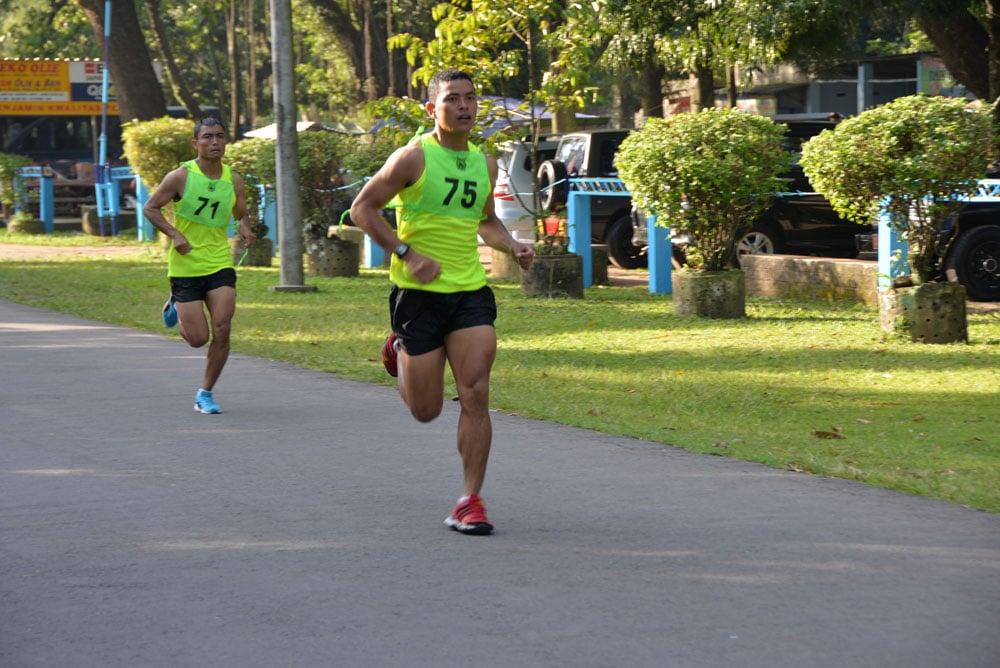 Yonko 463 Paskhas Juara Triathlon Hut Ke-72 TNI AU