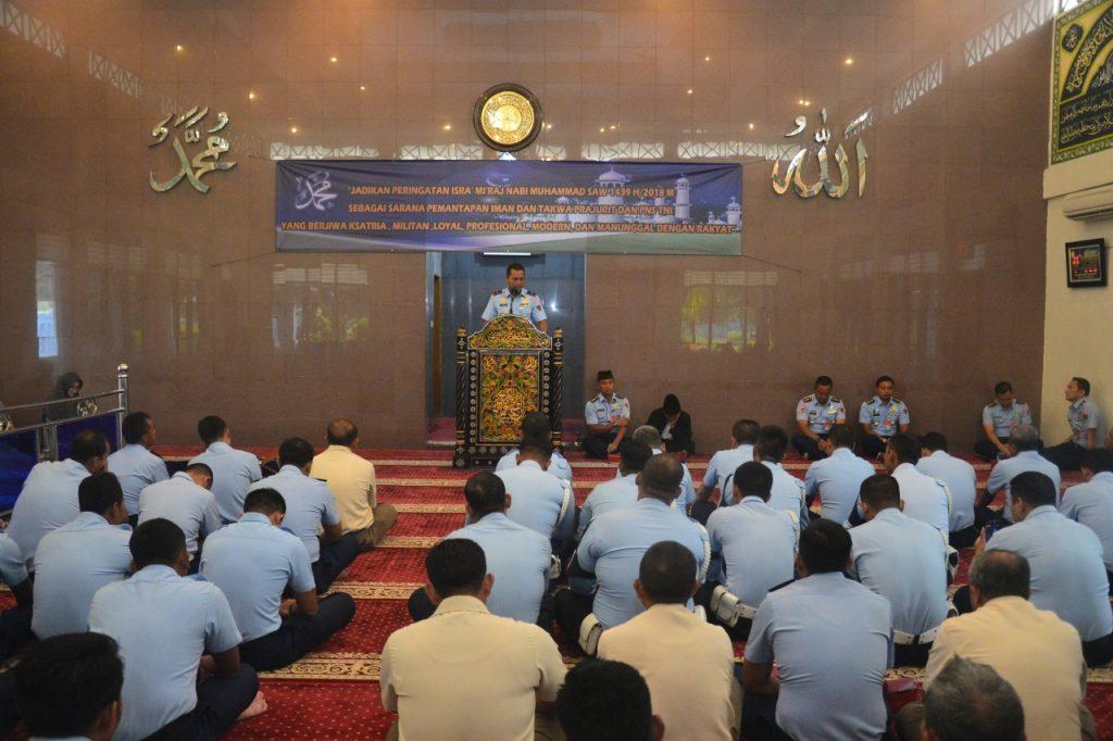 Lanud Halim Perdanakusuma Peringati Isra' Mi'raj 1439 H