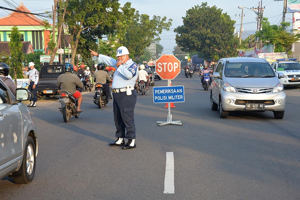 Pom Lanud Iwj, Bersama Pomad Dan Propam Polri Adakan Sweeping Personel TNI/Polri