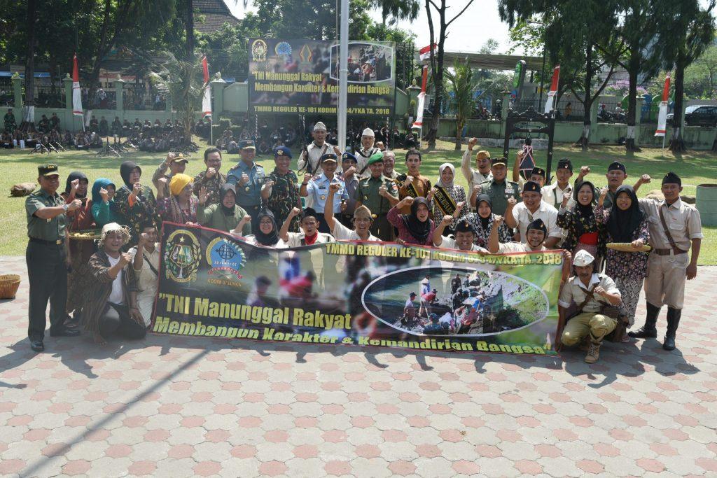Danlanud Adisutjipto Resmi Tutup TMMD di Yogyakarta