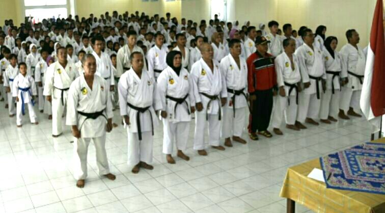 Ujian Karateka Ghasuku dan KYU Se-Kota Palembang Di Lanud SMH