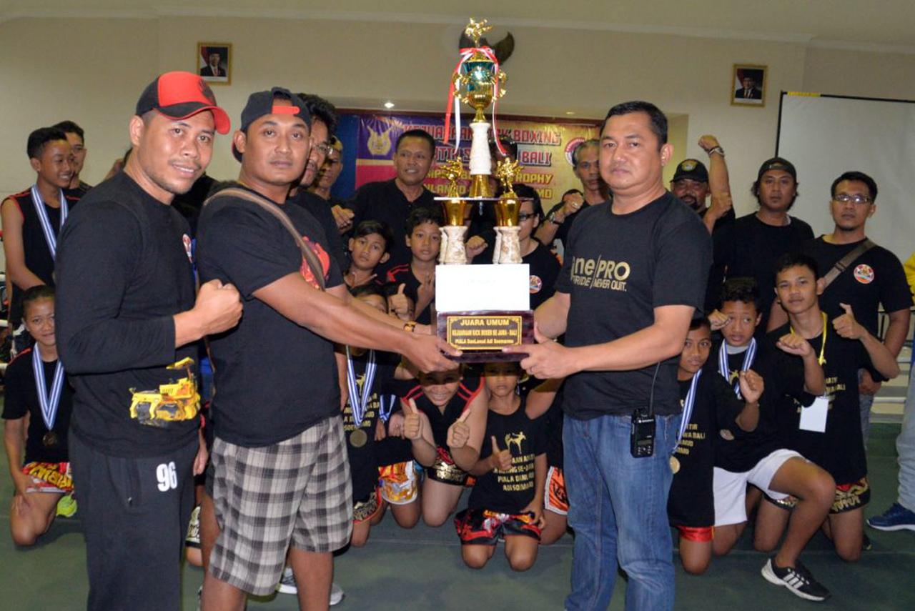 Kejuaraan Kickboxing Meriahkan Bulan Dirgantara di Lanud Adi Soemarmo