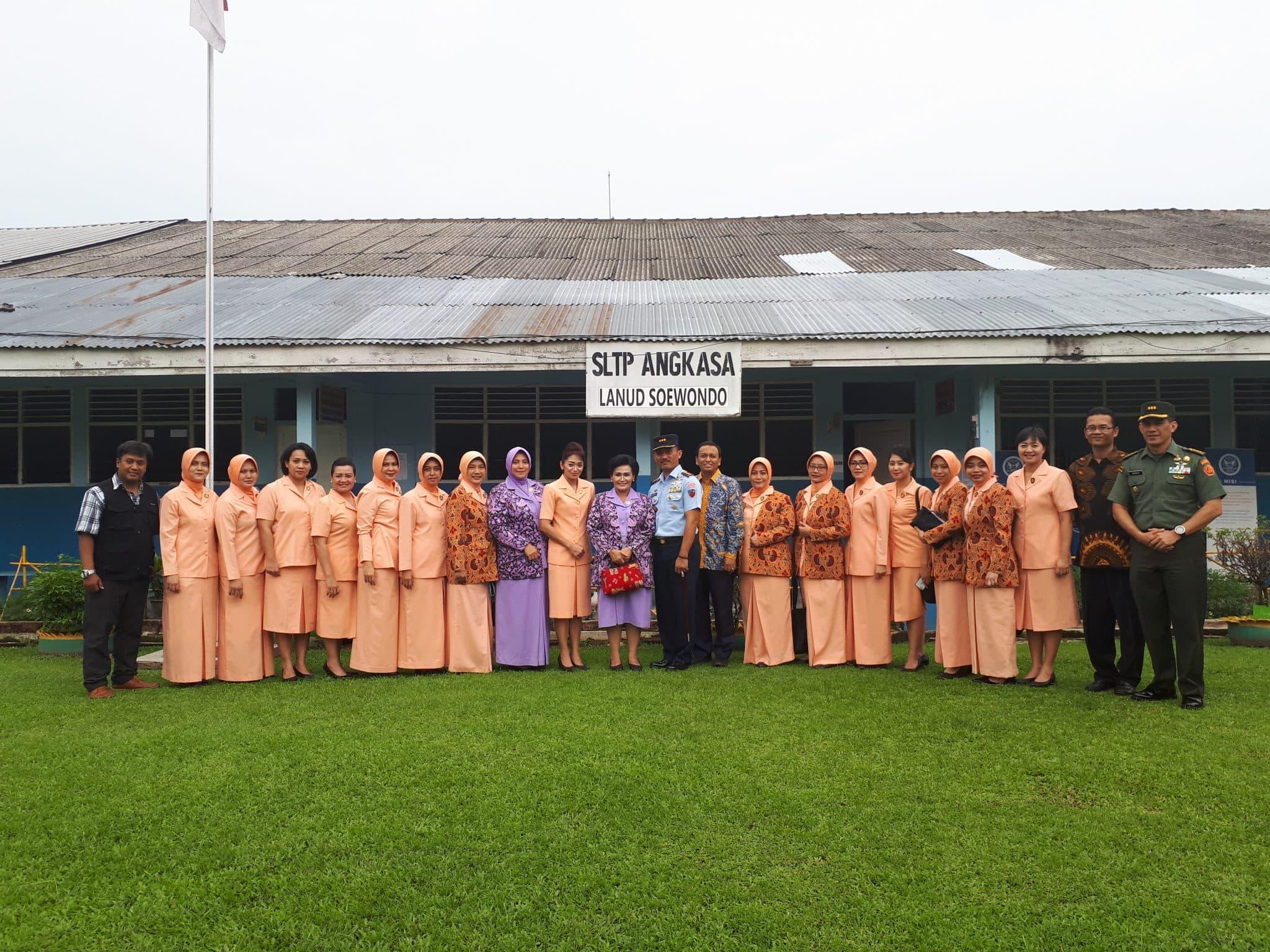 Visitasi Dan Penguatan Sekolah Angkasa di Yasarini Cabang Lanud Soewondo